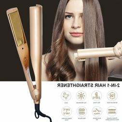 Professional 2 in 1 Twist Hair Straightener Hair Curling Str