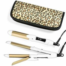 6th Sense Styling Travel Flat Iron And Curler Dual Voltage