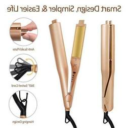2019 New Negative Ions 2 in1 Hair Straightener And Curling I