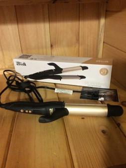 Berta 2in1 Curling Iron & Flat Iron Ceramic Professional Hai
