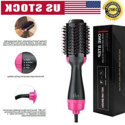 3In1 One Step Hair Dryer and Volumizer Brush Comb Straighten