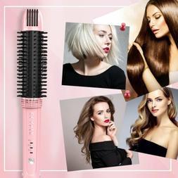 OLAXER- 3-in-1 Ceramic Hair Straightener, Hot Brush & Curlin