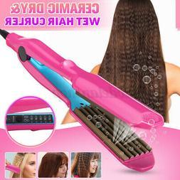5 Gears Ceramic Titanium Hair Crimper Crimping Perm Splint C