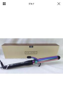 Anjou AJ-HC006 32mm Curling Iron, Titanium Finish, 1 1/4 Inc