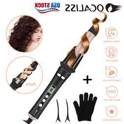 Ocaliss Automatic Curling Iron Heat Wand Hair Curler Curl Wa