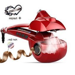 Automatic Hair Steam Curler Ceramic Curling Iron Bar Salon P