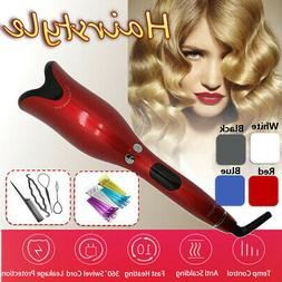 Automatic Magic Hair Curler Curling Iron Wand Roller Wave Be