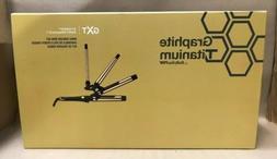 BaBylissPRO Graphite Titanium Ionic Curling Iron Set GXT BGT