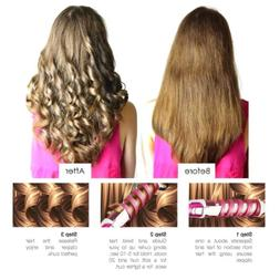 Beauty Hair Volume Spiral Ceramic Curling Iron Wand Hair Cur