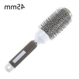 1 Pack Comb Hair Brush Nano Thermal Ceramic Ionic Round Barr