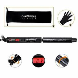PARWIN BEAUTY Curling Iron 1 Inch Ceramic Curling Wand with