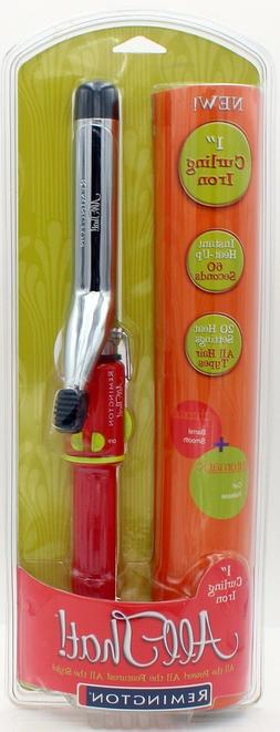 Remington Curling Iron 2-in-1 Straight N Curl All That 1 inc