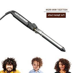 curling iron mini curler for short hair