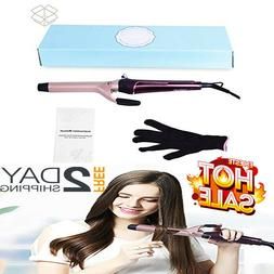Curling Wand Hair Iron Curler Ceramic Barrels For All Hair T