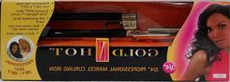 """Gold N Hot 3/4"""" Barrel 24K Gold Plated Professional Marcel C"""