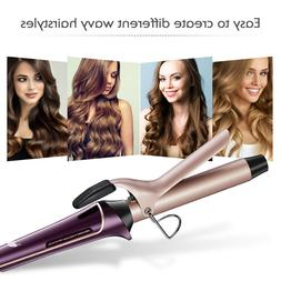 LEPO Hair Curling Iron with Tourmaline Ceramic Coating Diffe