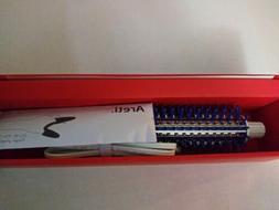 Areti Hair Iron Roll Brush 32mm Pink Blue Minus Ion Brush Ir