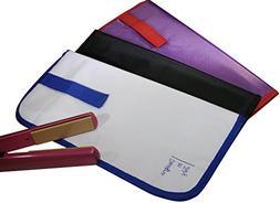 Hair Straightener Heat-Resistant Travel Case. Portable Flat
