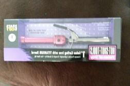 "Hot Shot Tools Helen of Troy Curling Iron Pink 1"" Inch Titan"