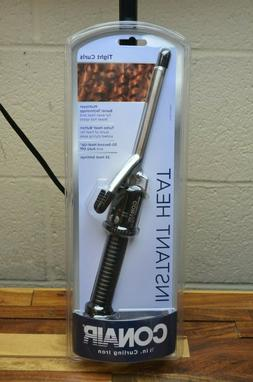Conair Instant Heat Curling Iron 1/2Inch Hair Curler Tight C