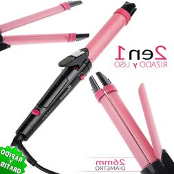 Iron On For The Hair 2 IN 1 Straightener Curling Smooth Curl
