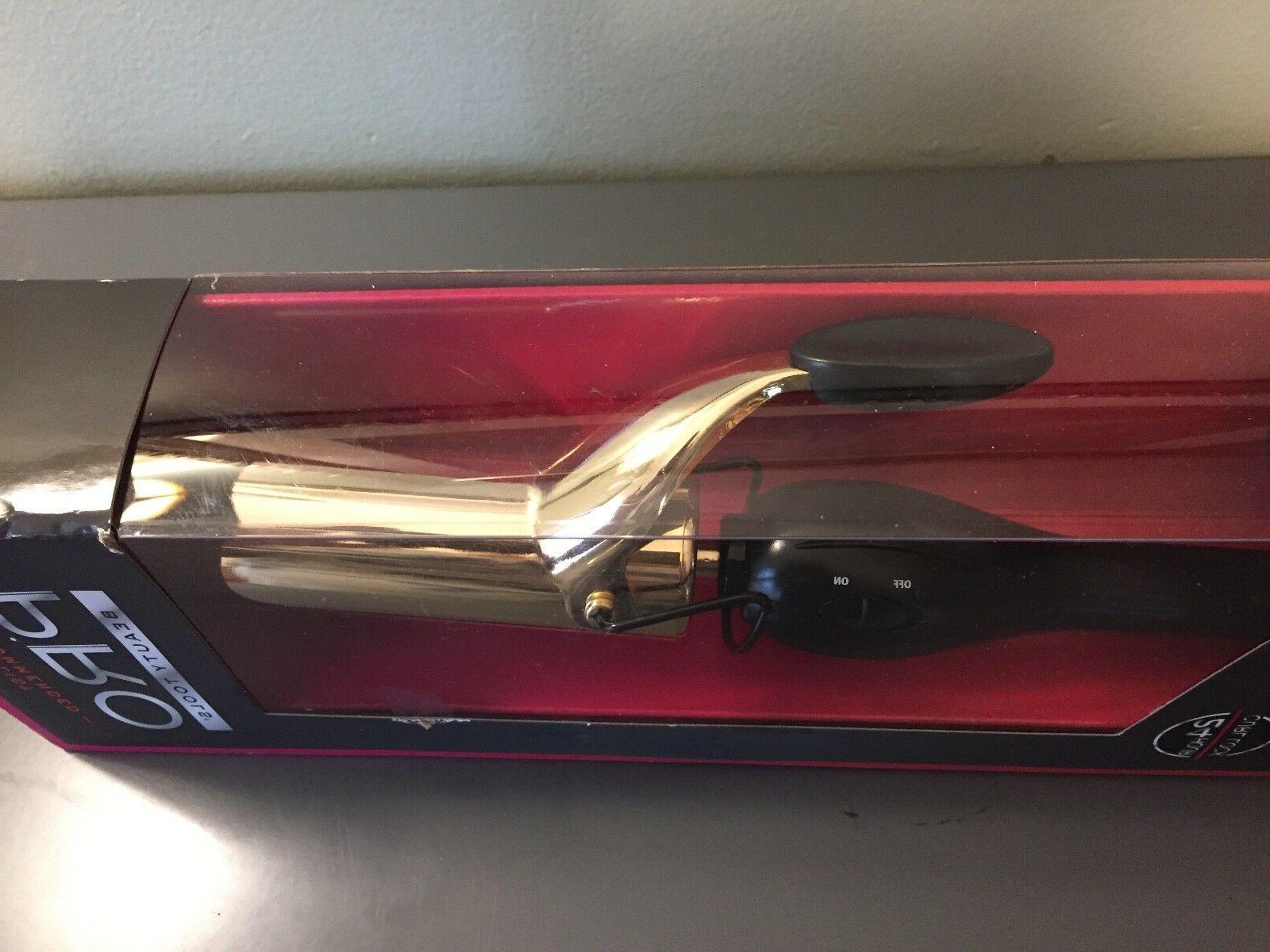 Pro Beauty 1/2 24K gold curling iron