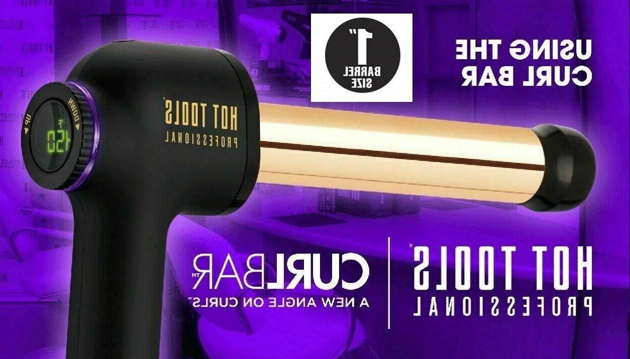 Hot Tools 1181 1'' Salon Hair Iron Bar