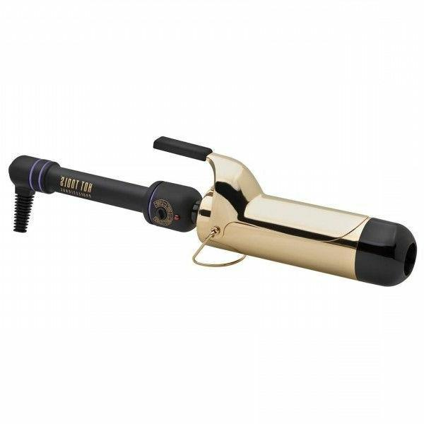 2 inch 24k gold curling iron wand