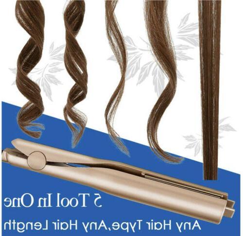 2in1 Hair Curler Twist Styler Ceramic
