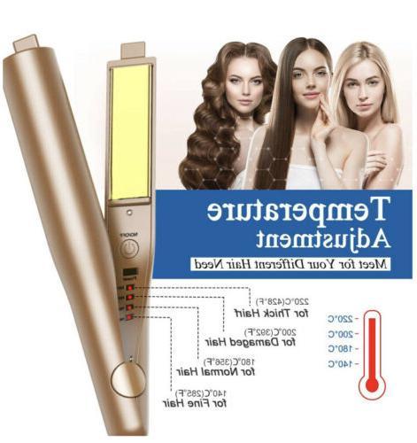 2in1 Hair Curler Twist Curling Styler Tourmaline Ceramic