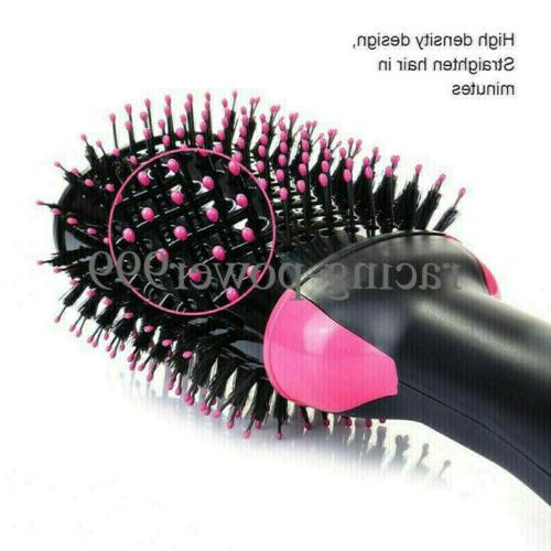 USA One Hair Brush Comb Curling
