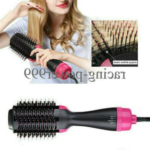 Hair Dryer and Brush Straightening Iron