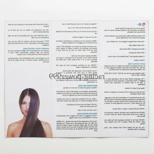 USA 2In1 Step Hair Volumizer Brush Curling Iron
