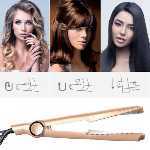 2IN1 Professional Twist Hair Straightener Iron Curler