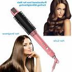 OLAXER- 3-in-1 Ceramic Hair Straightener, Hot Brush & Curlin