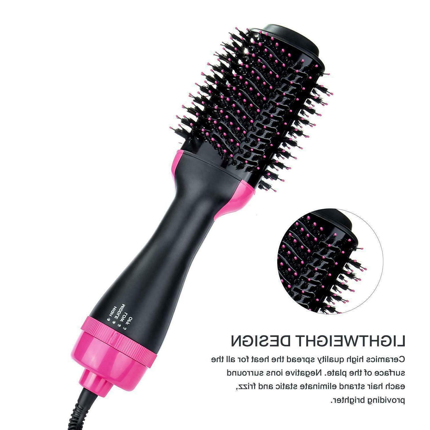 3 Hair Dryer Straightening Iron Comb