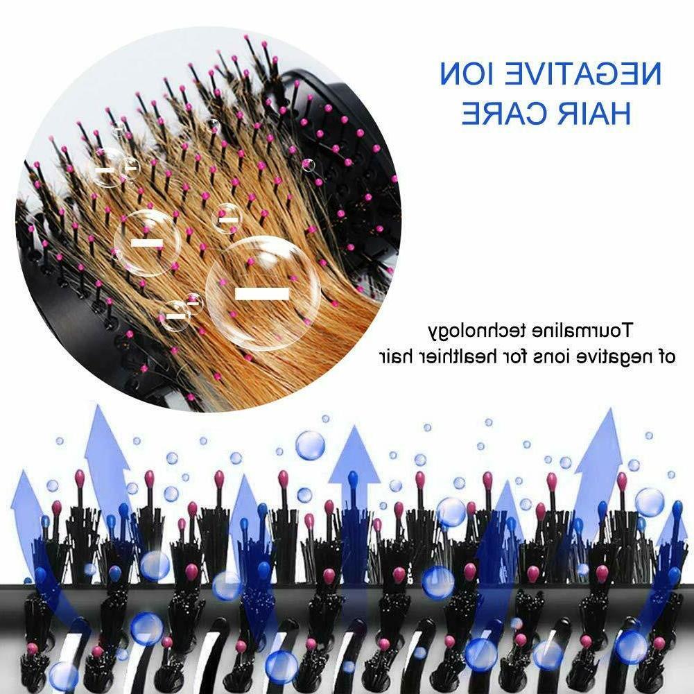 3in1 Blow Dryer Volumize Styler Straighten Iron Comb