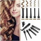 5 In 1 Curling Iron Wand Set Hair Straightener Curler Roller