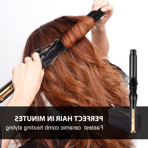 5 Iron Wand Set Inch 5 Hair Curler