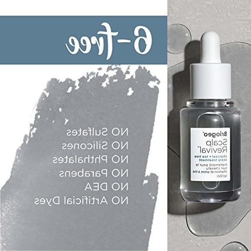 Briogeo - Charcoal Tea Tree Scalp Treatment - and Prevents Flaky, 1 oz