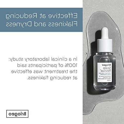 Briogeo Scalp Revival Charcoal Tea Tree Scalp Treatment and Prevents a Flaky, Itchy Scalp, oz