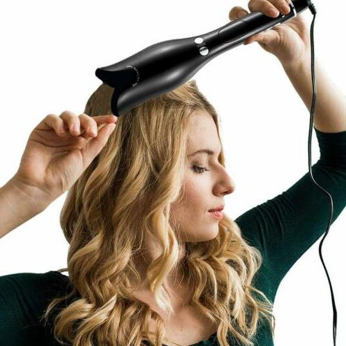 Automatic Hair Curling Iron Hair Curler Wand Rotating Stylin