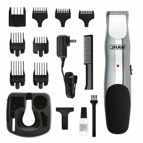 Wahl Trimmer, Cordless Rechargeable Facial Hair