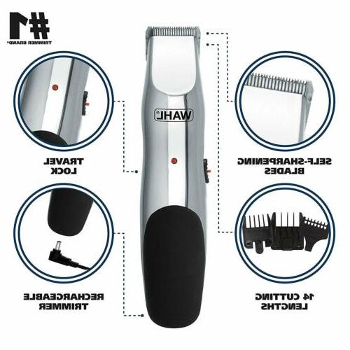 Wahl and Mustache Trimmer, Cordless Rechargeable Facial Hair