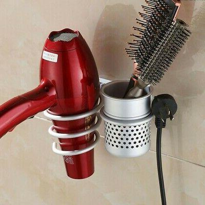 blow dryer holder curling flat iron stand