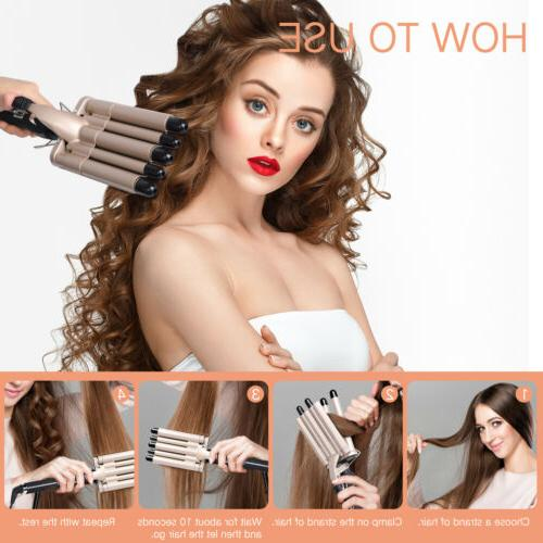 iFanze Barrel Hair Wave Waver Salon Wand