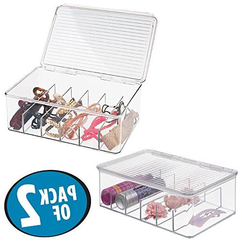 compact stackable hair storage