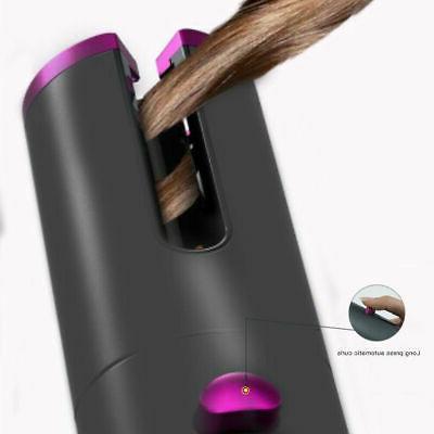 Cordless Iron Hair Wand 360° Rotating