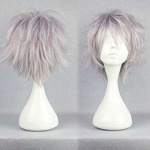 cosplay hair wig short straight