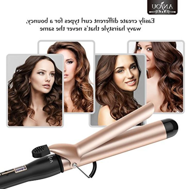 inch Tourmaline Ceramic Hair Curling Wand